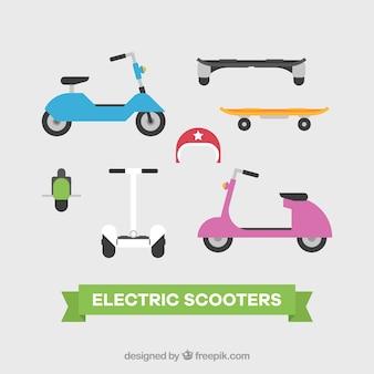 Oryginalny zestaw skuterów elektrycznych
