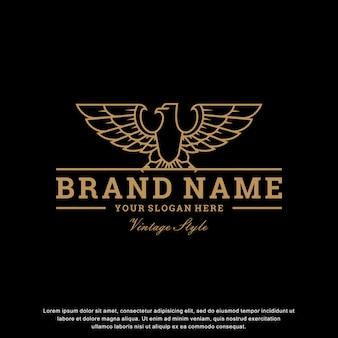 Orzeł logo inspiracja vintage design