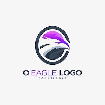 Orzeł logo leci feniks