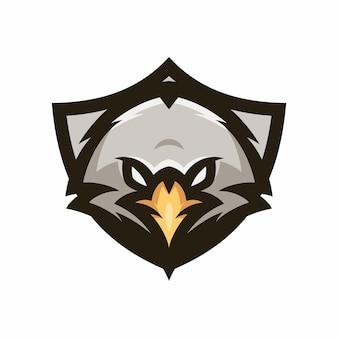 Orzeł - wektor logo / ikona ilustracja maskotka