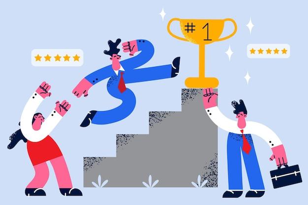 Osiągnięcie sukcesu w biznesie i koncepcja przywództwa
