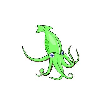 Ośmiornica ilustracja wektorowa clipart