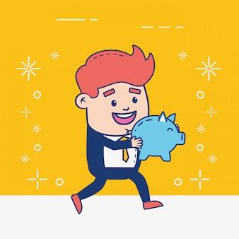 Osoba bankowości internetowej
