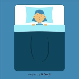 Osoba śpiąca
