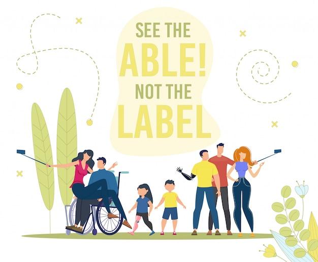 Osoby niepełnosprawne aktywne i pełne życie mieszkanie