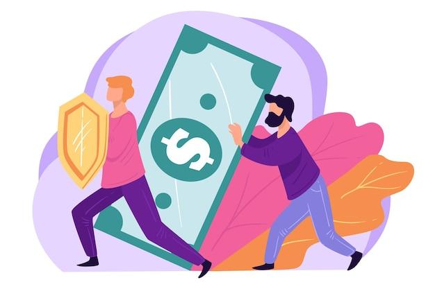 Osoby oszczędzające pieniądze lub inwestujące w bezpieczne źródło