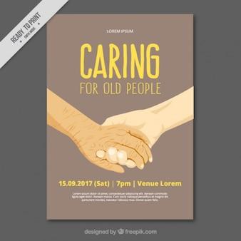 Osoby starsze drżenie rąk kartę