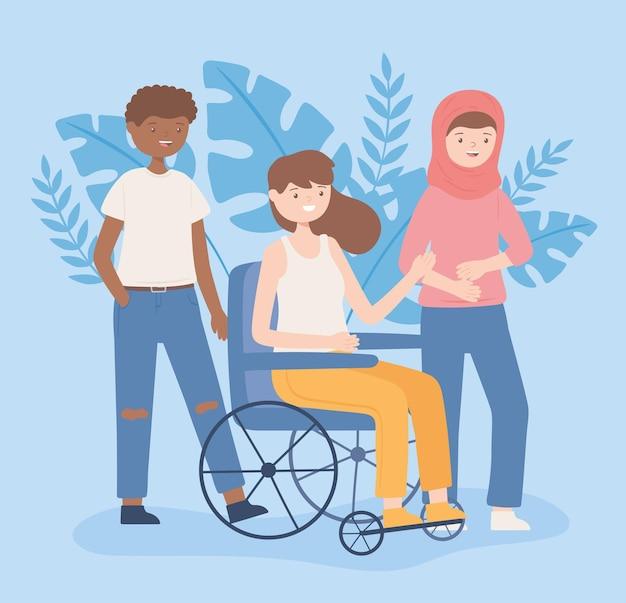 Osoby wielokulturowe i niepełnosprawne