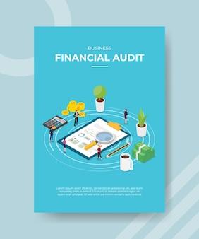Osoby zajmujące się audytem finansowym firmy, analizujące dane statystyczne dotyczące finansów