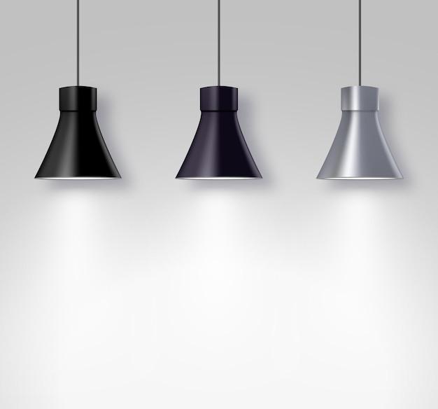 Oświetlacze lamp na ścianie wewnętrznej