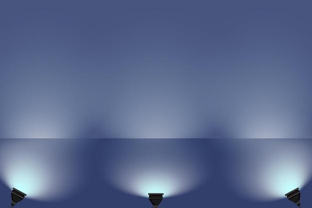 Oświetlenie punktowe koncepcja tło