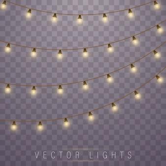 Oświetlenie świąteczne. ledowa lampa neonowa. świecące światła.