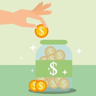 Oszczędność pieniędzy