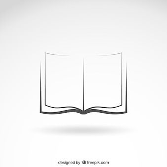 Otwórz ikonę książki