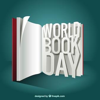 Otwórz książkę tle