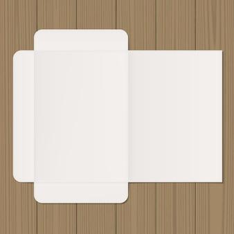 Otwórz makietę folderu