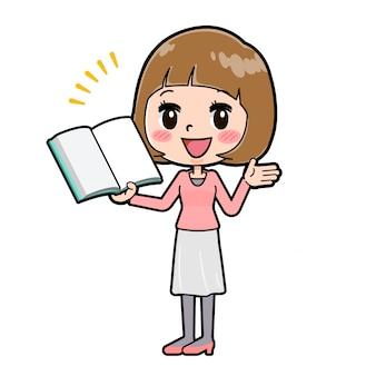 Out line różowe ubrania women_book-presentation