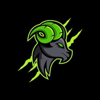 Owce zwierzę maskotka logo esport logo team obrazy stockowe