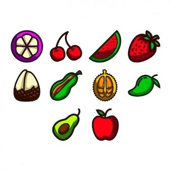Owoc ikony kolekcji