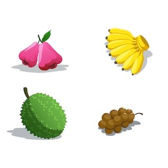 Owoce azjatyckie smakują słodko i pysznie.