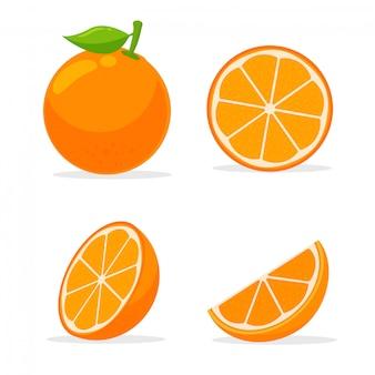 Owoce cytrusowe, które są bogate w witaminę c. kwaśny, pomagając poczuć się świeżo.
