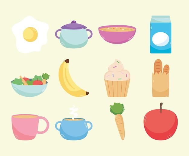 Owoce i jedzenie