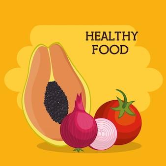 Owoce i warzywa zdrowa żywność