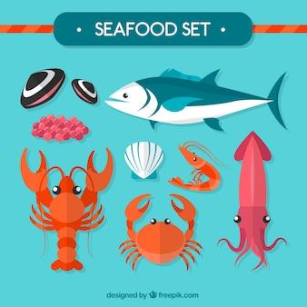 Owoce morza zestaw