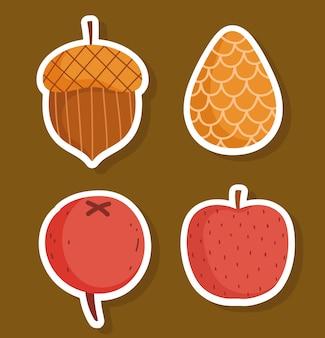 Owoce w sezonie jesiennym
