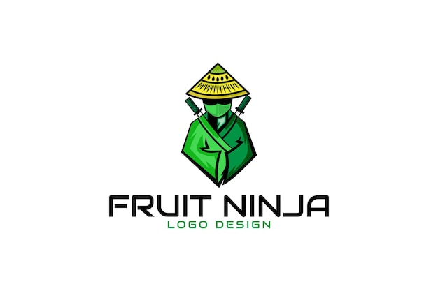 Owocowe logo ninja