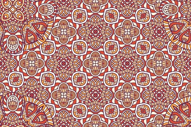 Ozdoba piękne tło element geometryczny koło wykonane w wektorze