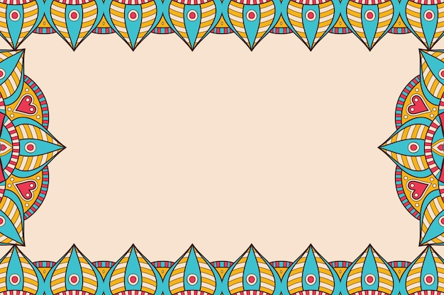 Ozdoba piękne tło geometryczny element okręgu