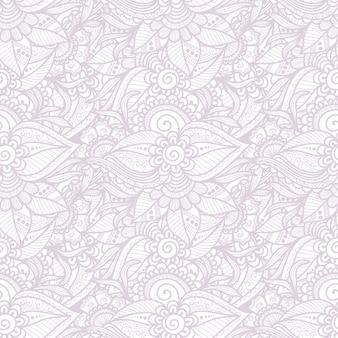 Ozdobne kwiatowy wzór