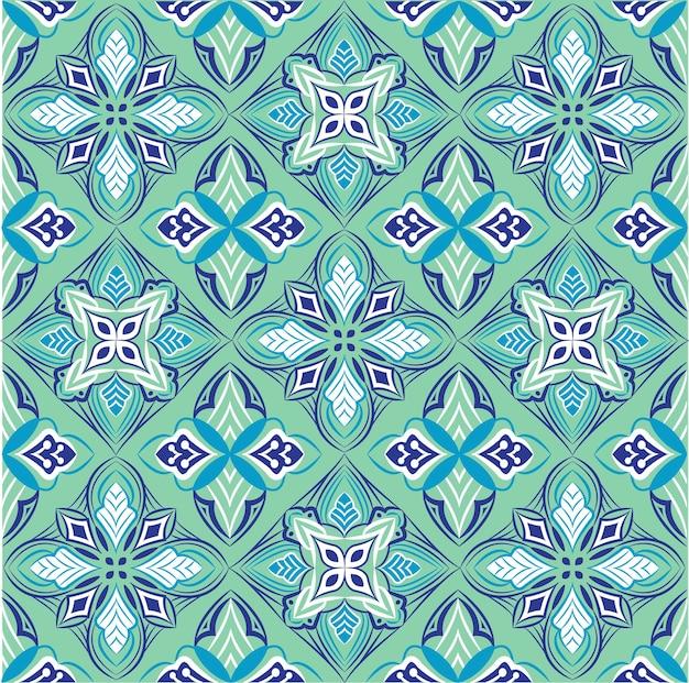 Ozdobne mandali projekt abstrakcyjny wzór bez szwu