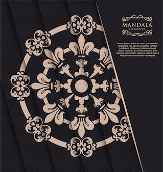 Ozdobne tło mandali