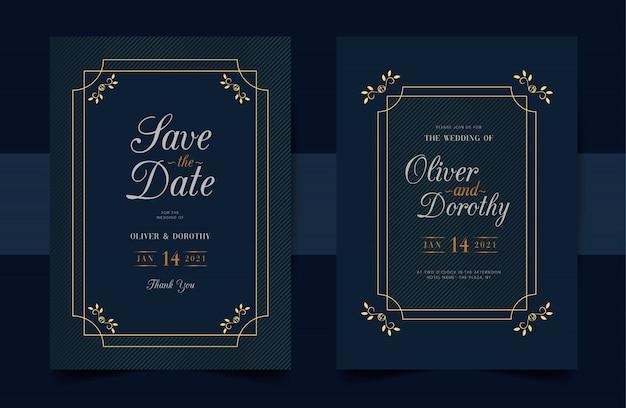 Ozdobne zaproszenia ślubne