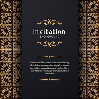 Ozdobne zaproszenie na ślub w eleganckim stylu