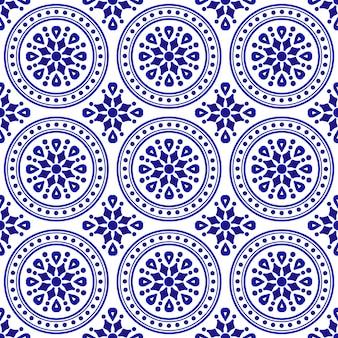 Ozdobny okrągły wzór