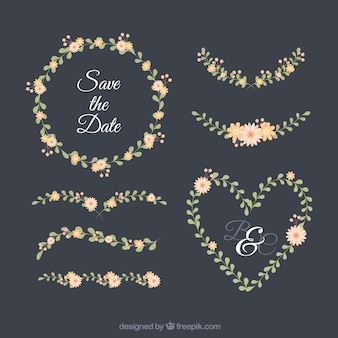 Ozdoby ślubne z kwiatowym stylem