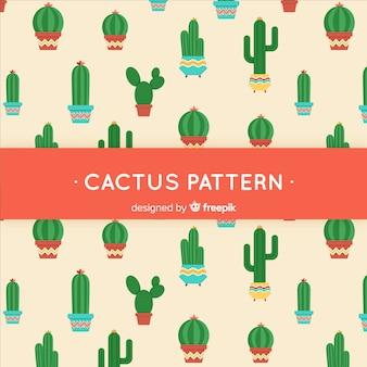 Płaski kaktus tło