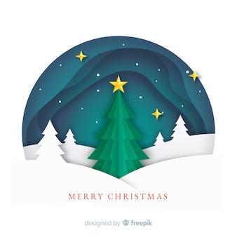 Płaskie tło Boże Narodzenie