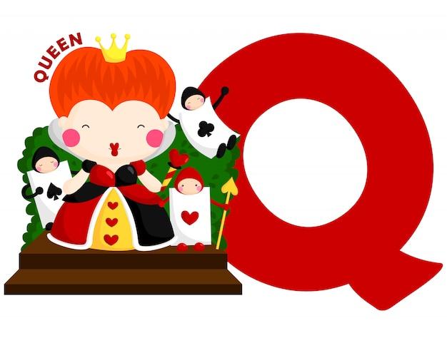 P dla królowej