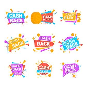 Paczka etykiet cashback