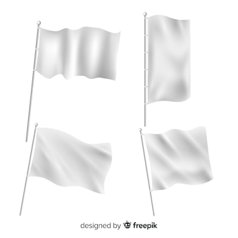 Paczka flag tekstylnych
