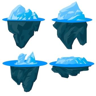 Paczka gór lodowych