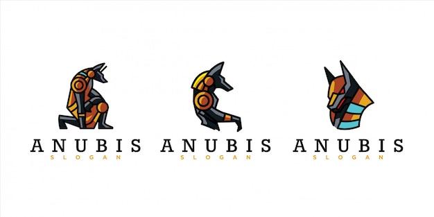 Paczka logo anubis