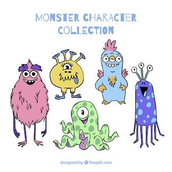 Paczka pięciu potworów