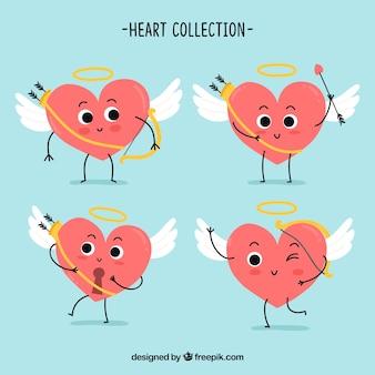 Paczka pięknych serc