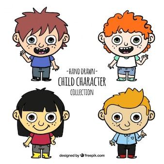 Paczka rysunków dzieci