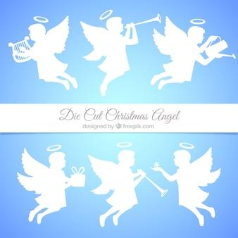 Paczka ślicznych wycięty aniołów